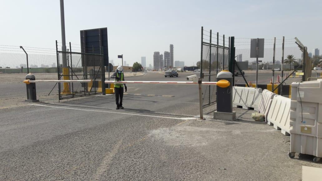 zamzamdoor Security Barrier
